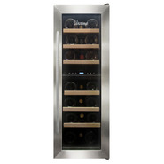 21-Bottle Dual-Zone Thermoelectric Wine Cooler