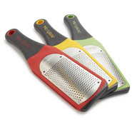 Soft-Handle Fine Grater, Red