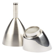Rabbit Wine-Shower Funnel with Strainer by Metroka