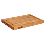 . Maple Edge-Grain Cutting Board with Juice Groove