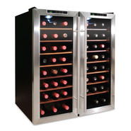 48-Bottle Thermoelectric Dual-Zone Wine Cooler