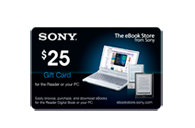 eBook Gift Card $25 EBOOK0225
