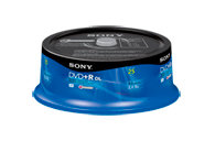 DVD+R Dual Layer Recordable DVD Media - 25 pack 25
