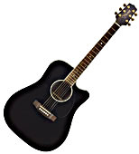 EG361SC Acoustic-Electric Guitar