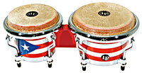 Mini Tunable Bongos, Puerto Rican Flag