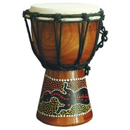 X8 Hand Painted Mini Djembe X8-Mini-Dot-Paint