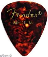 351 Classic Celluloid Picks, Medium, 12 Pack - She