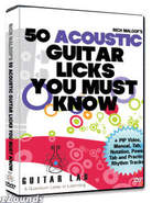50 Acoustic Licks DVD Video