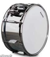 Rocker Chrome Steel Snare Drum (6.5 x 14 Inch)