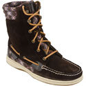 Hiker Fish Brown Suede/Patent Women&#39;s