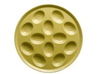 11.25-in. Egg Plate, Sunflower