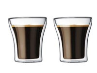 Set of 2 Assam Double Wall Glasses, Double Old-Fas