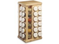 48-bottle Carousel Spice Rack, Maple
