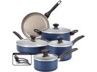 12-pc. Nonstick Dishwasher Safe Nonstick Cookware