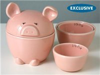 5-pc. This Lil' Piggy Measuring Cups