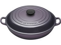 3.5-qt. Signature Enamel Cast Iron Braiser, Cassis