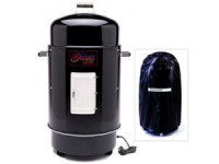 28-in. Gourmet Electric Smoker/Grill with Vinyl Co