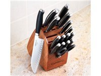 17-pc. Contemporary Cutlery Knife Block Set