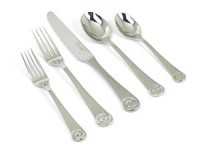 45-pc. Ammonite Mirror Service for 8 Flatware Set