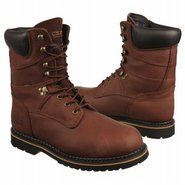8  lace-up Boots (Dark Brown) - Men's Boots - 9.5