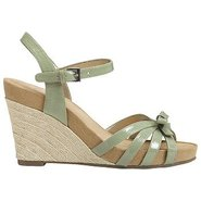 Ivy Plush Shoes (Light Green Patent) - Women&#39;s Sho