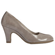 Tapestry Shoes (Grey Patent) - Women's Shoes - 5.0