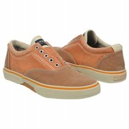 Halyard Laceless Shoes (Lt Brown/Orange) - Men's S