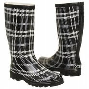 Roma Boots (Black/Grey Plaid) - Women's Boots - 8.