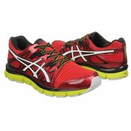 Gel Blur 33 Shoes (Red/White/Lime) - Men&#39;s Shoes -