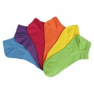 Women's 6PK Brights No Show Accessories (Assorted)