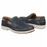 Lakeside Slip Shoes (Navy Nubuck) - Men's Shoes -