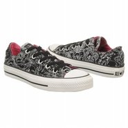 CT All Stars Spec Ox Shoes (Black/Raspberry) - Wom