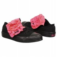 CT All Star Mega Shoes (Black/Neon Pink) - Women's