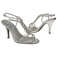 Striking Shoes (Silver) - Women&#39;s Shoes - 6.0 B