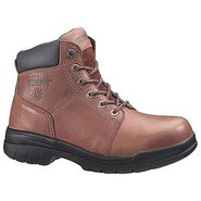 Wolverine Slip Resist BT Boots (Walnut) - Men's Bo