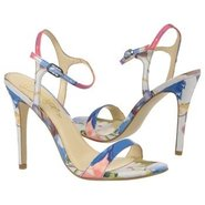 Roxane Shoes (Blue Floral) - Women's Shoes - 8.5 M