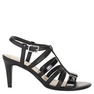Lendra Strappy Sandal Shoes (Black) - Women's Shoe