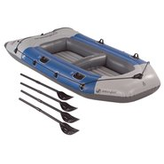 Colossus 4 Person Inflatable Boat w/ Oars