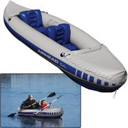 AIRHEAD 2 Person Recreational Travel Kayak - 10' 3