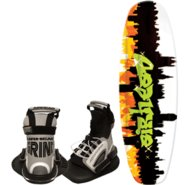 AIRHEAD Graffiti City Wakeboard w/ Grind Bindings