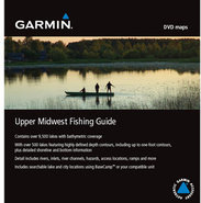 Upper Midwest Fishing Guide on SD/microSD Card