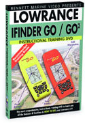 Lowrance iFinder GO Series Instructional DVD by Be