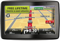 VIA 1435TM Wide-Screen Bluetooth GPS System w/ Lif
