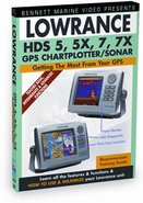 Bennett Training DVD for Lowrance HDS 5/5X/7/7X Ch