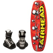 AIRHEAD Bonehead II Wakeboard w/ Grab Youth Bindin
