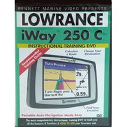 Lowrance iWAY 250c Instructional DVD by Bennett Ma