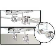 Dual Square/Flat or Side Bulkhead Rail Mount HD