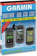 Bennett Training DVD for Garmin Montana 600, 650, 