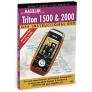 Magellan Triton 1500/2000 Instructional DVD by Ben