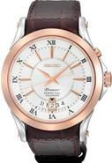 Premier Perpetual Leather Mens Watch SNQ126
